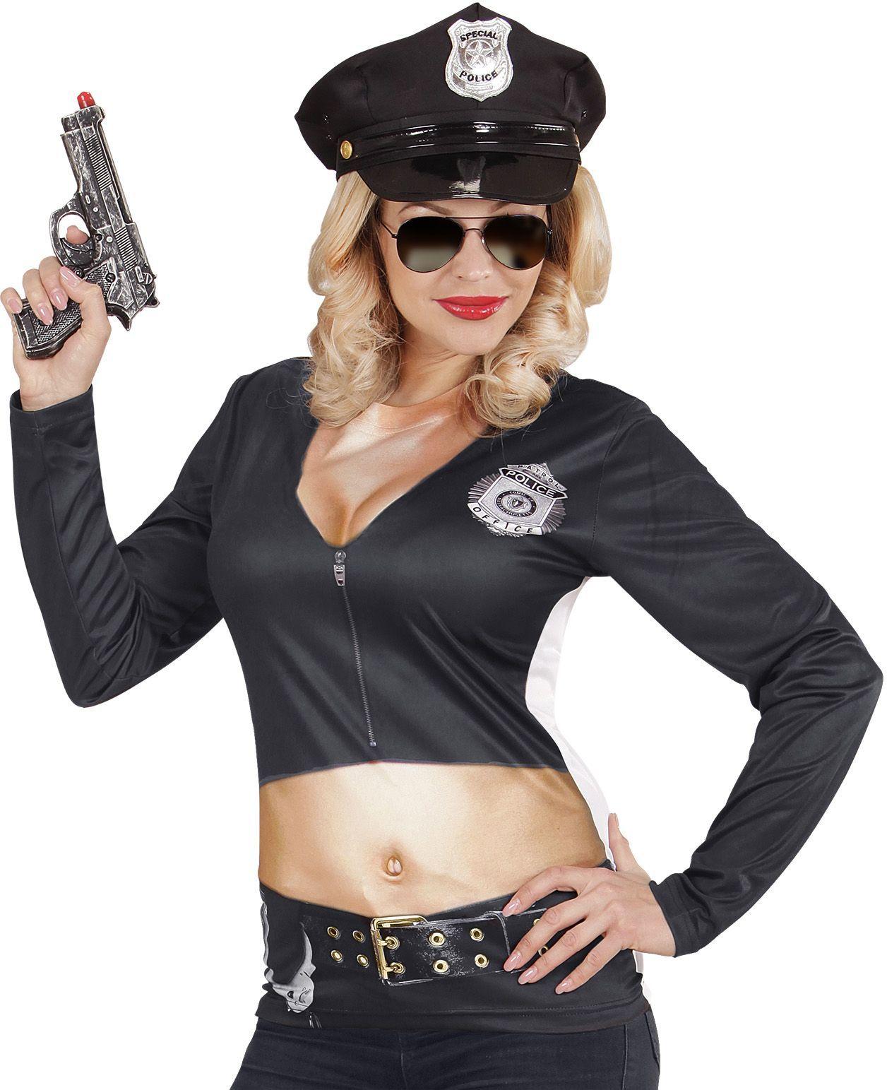 Politie dames shirt