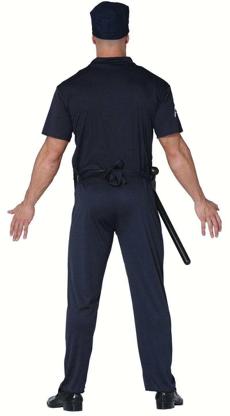 Politie kostuum mannen