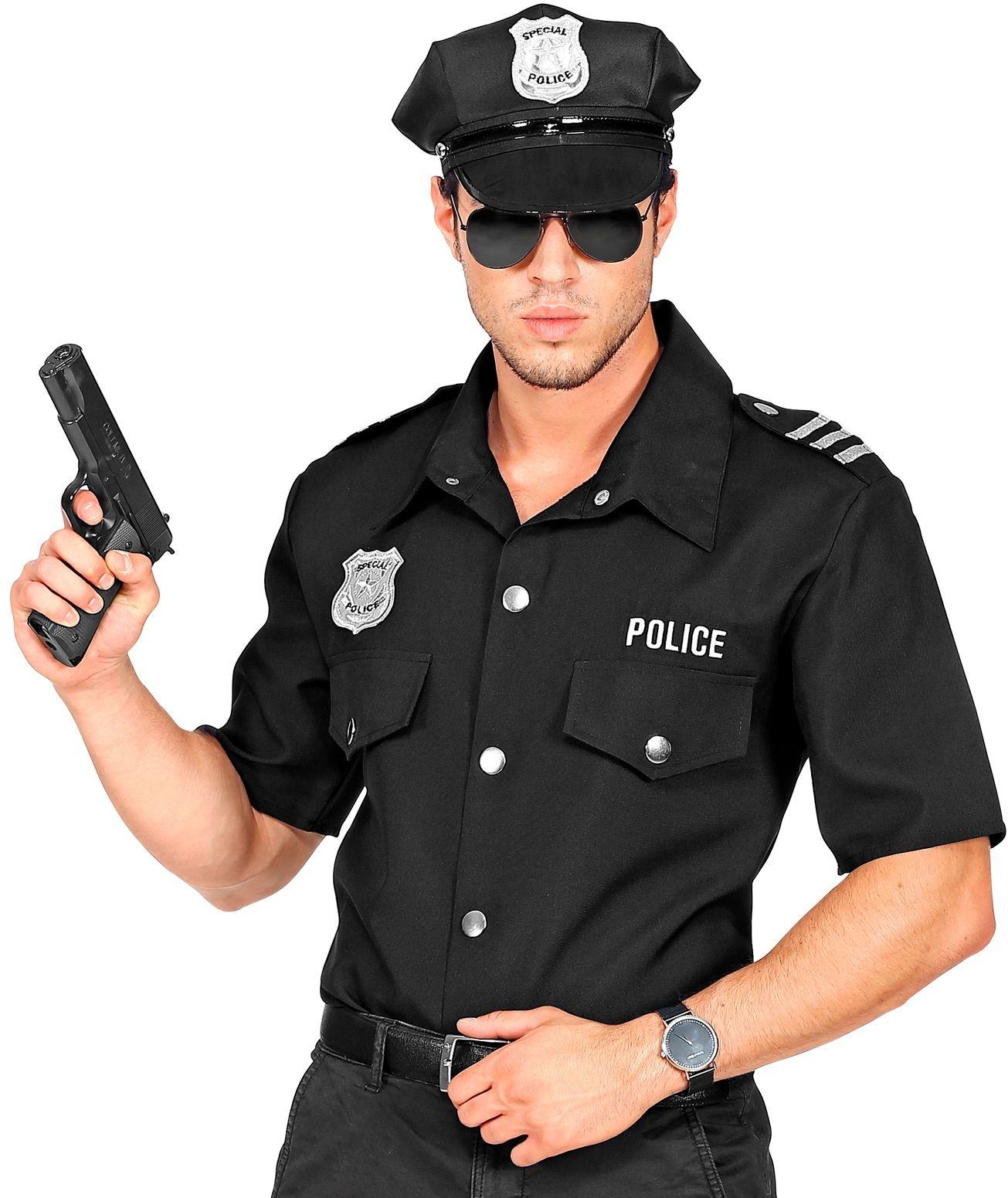 Politie shirt heren