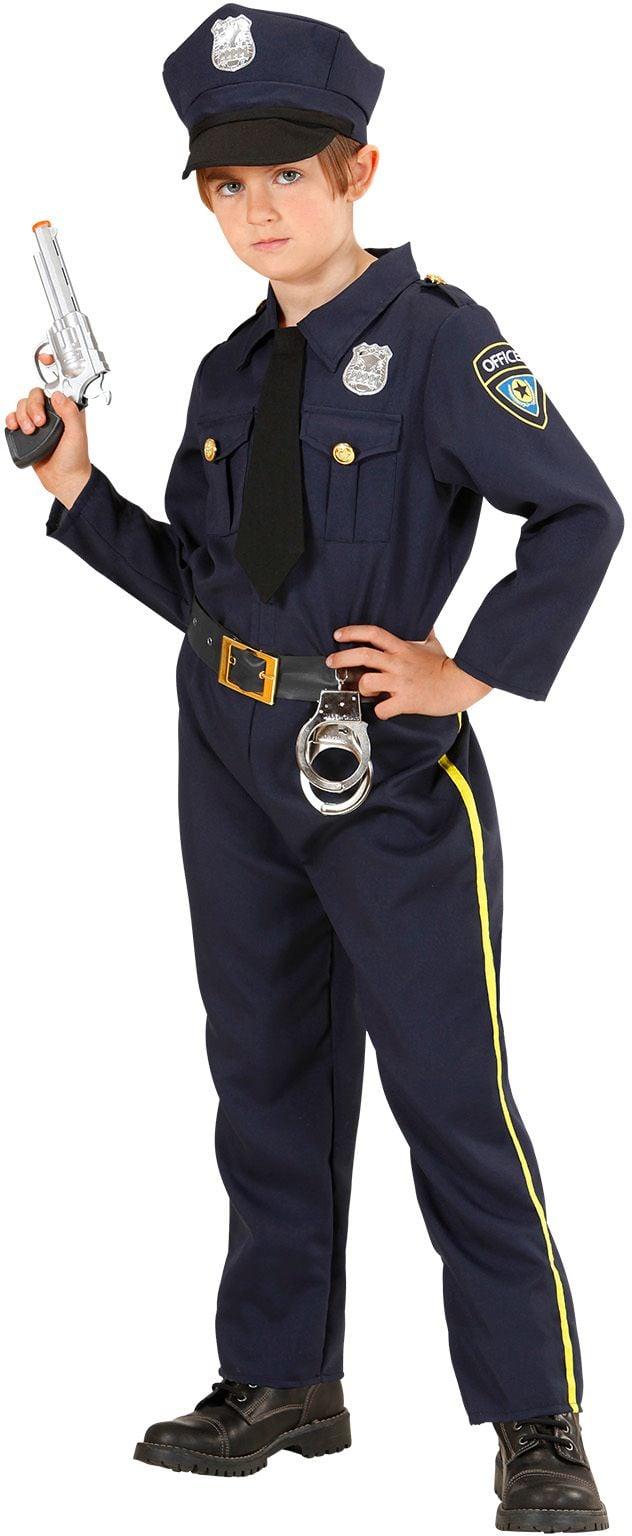 Politiejongen kostuum