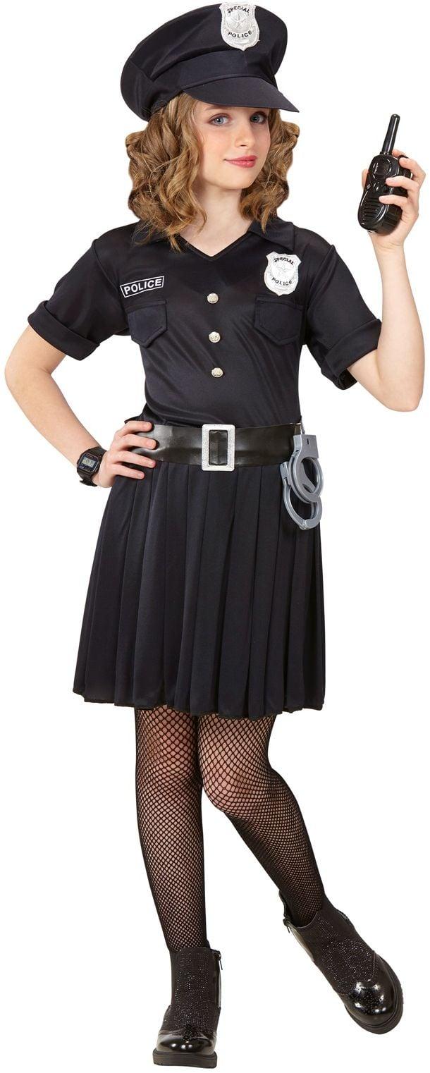 Politiepak meisje