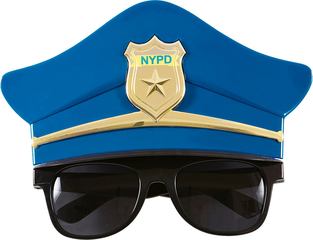 Politiepet bril