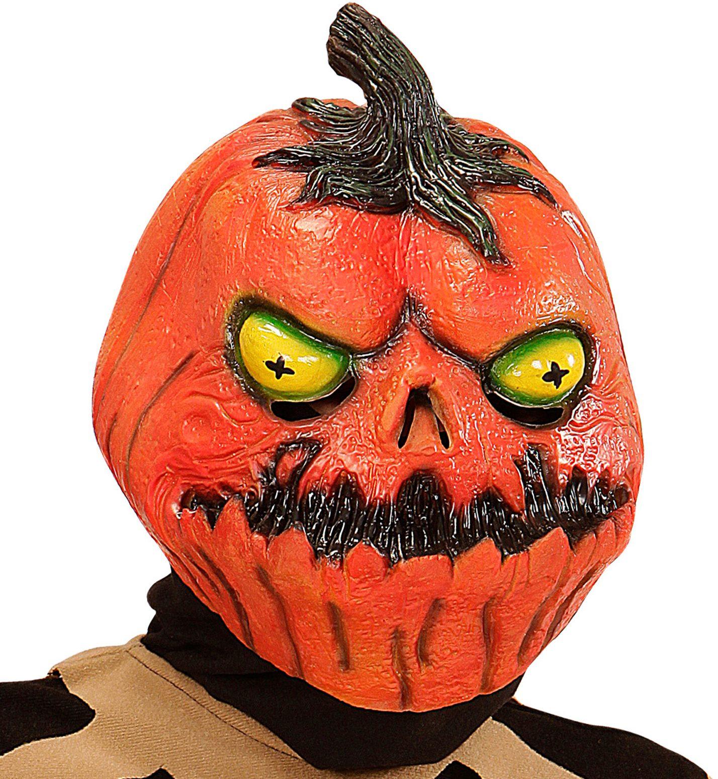 Pompoen horror masker kind
