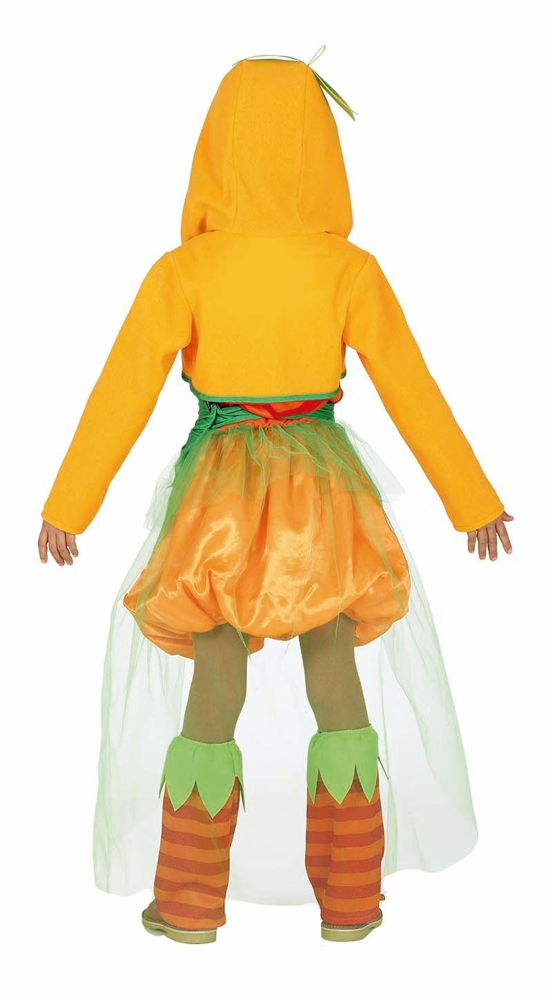 Pompoen jurkje meisje