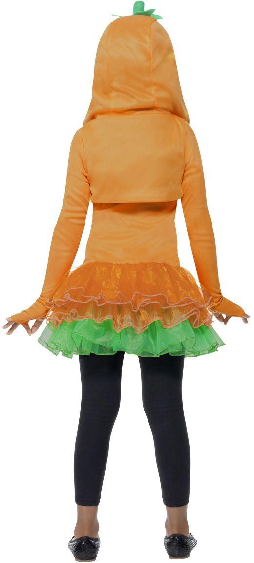 Pompoenen tutu jurkje meisje