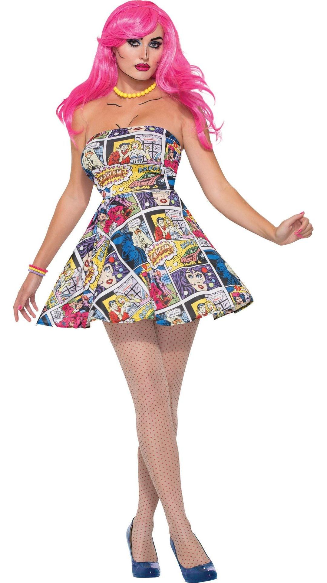 ca26d934cacde0 Pop Art jurk