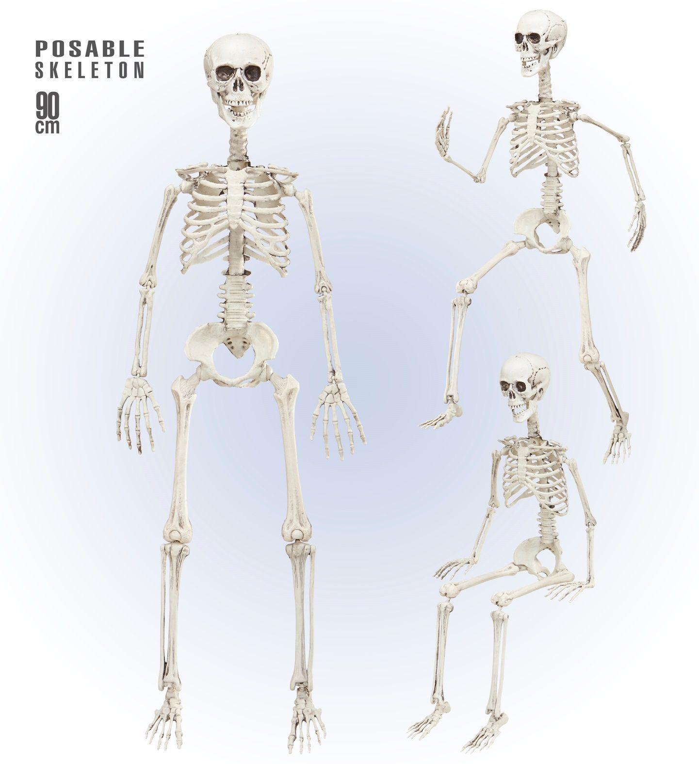 Poseerbare hangende skelet