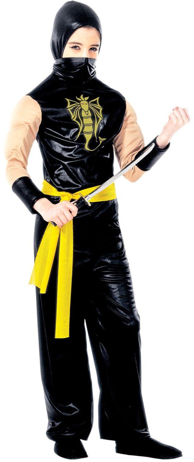 Power ninja kostuum