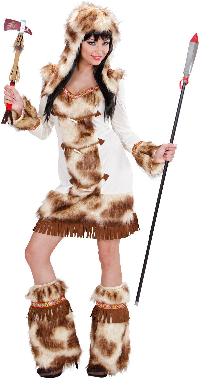 Prehistorische Jager vrouw