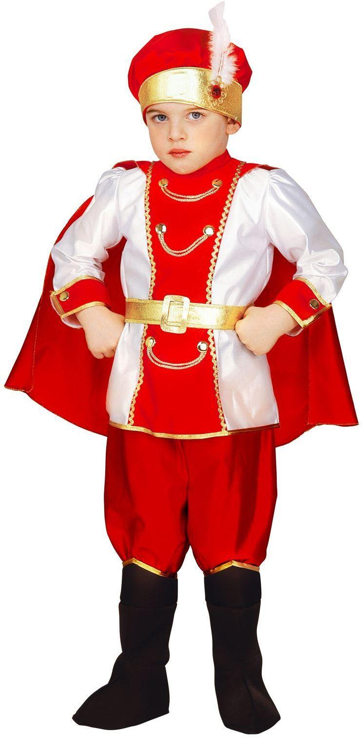 Prins kostuum jongens