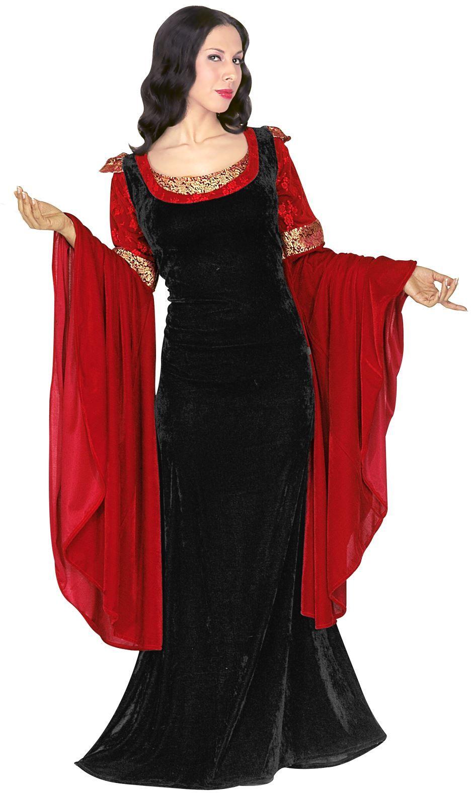 Prinses fantasy kostuum