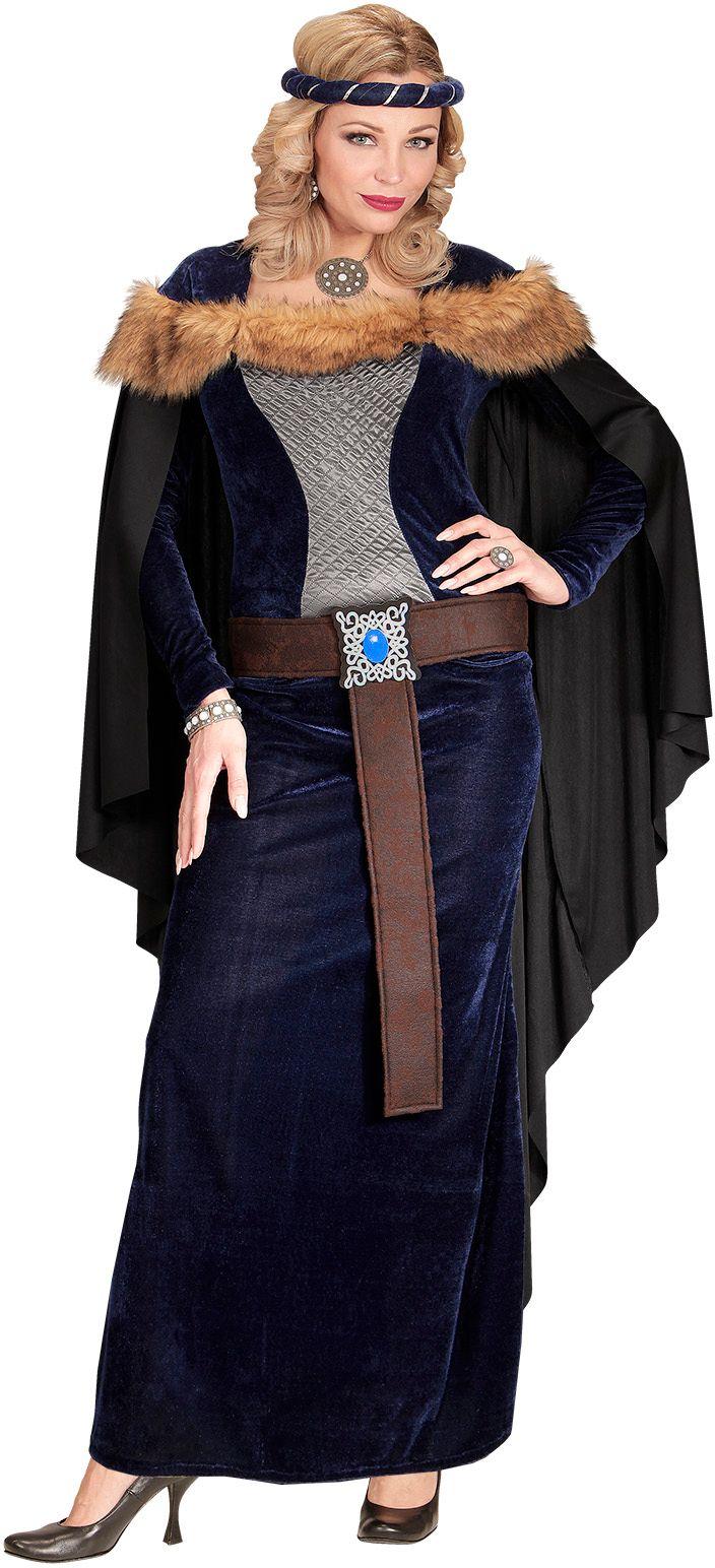 Prinses kostuum middeleeuwen