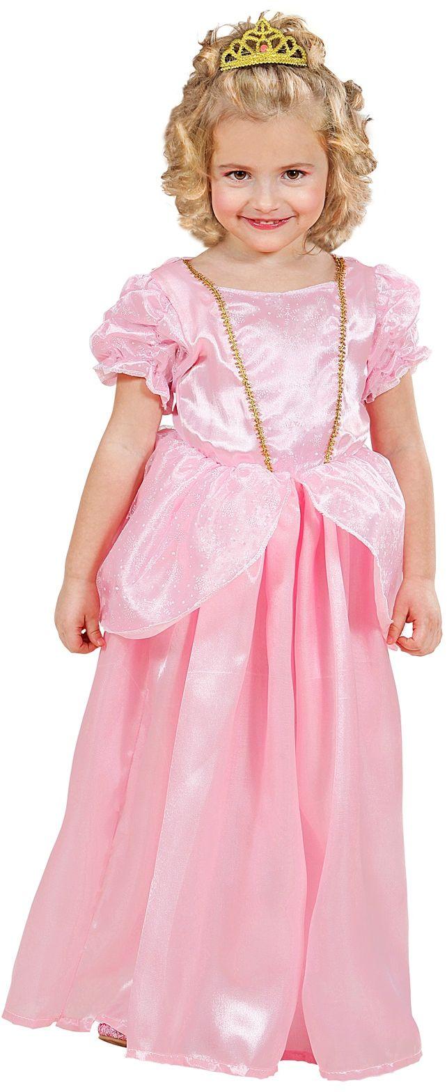 Prinses peach jurk meisje