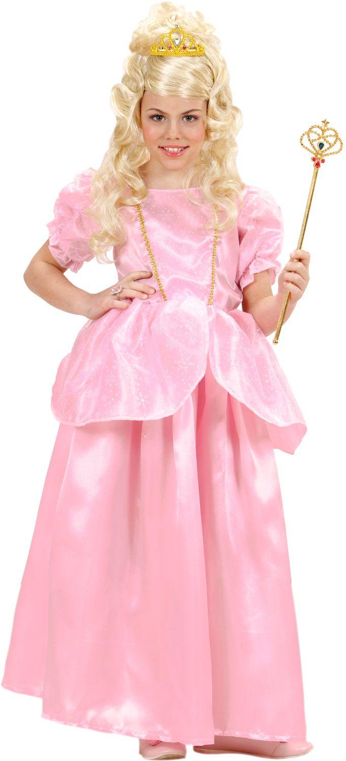 Prinses Roze Kinderen kostuum