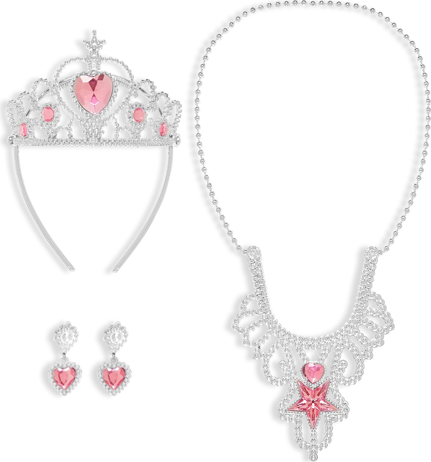 Prinses sieraden set