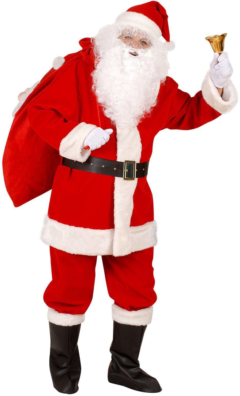 Professioneel kerstman kostuum