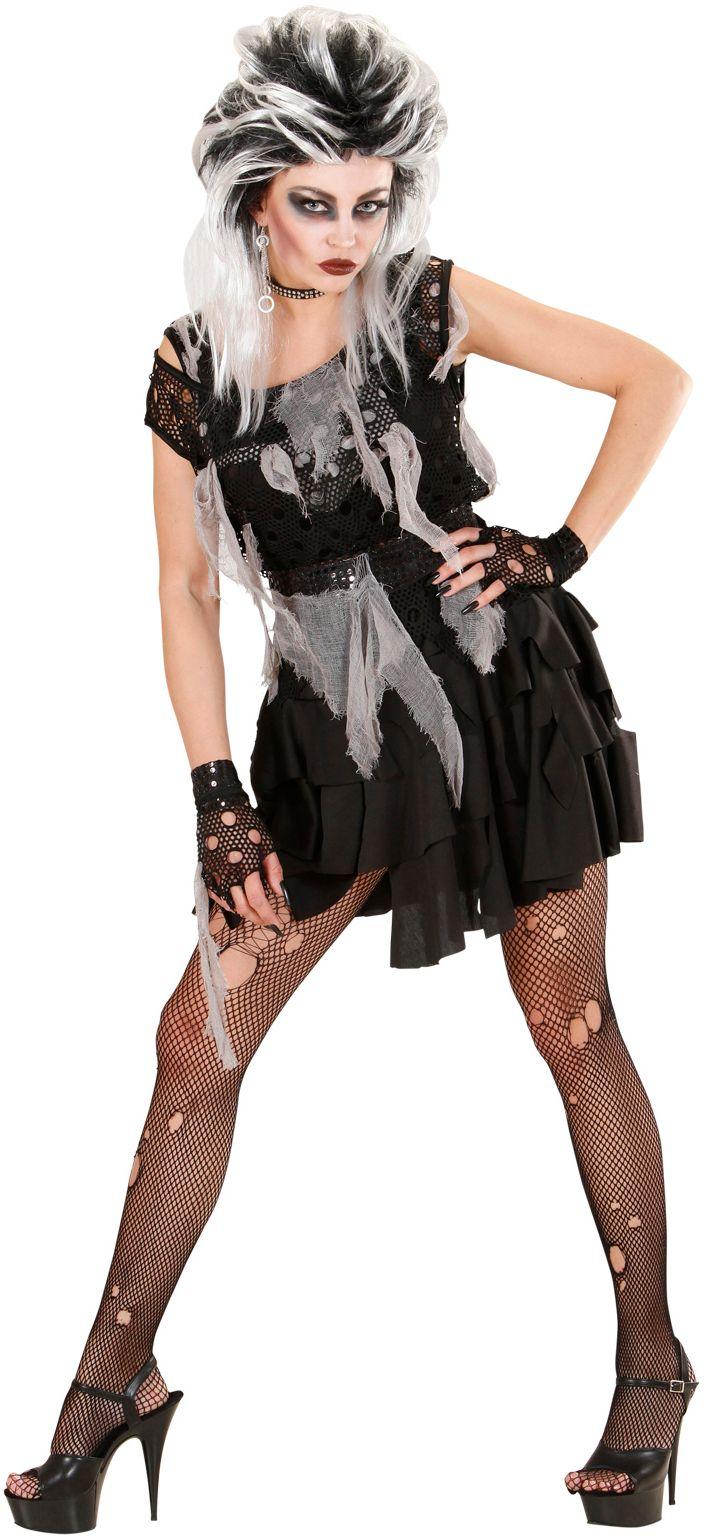 Punk Zombie Kostuum