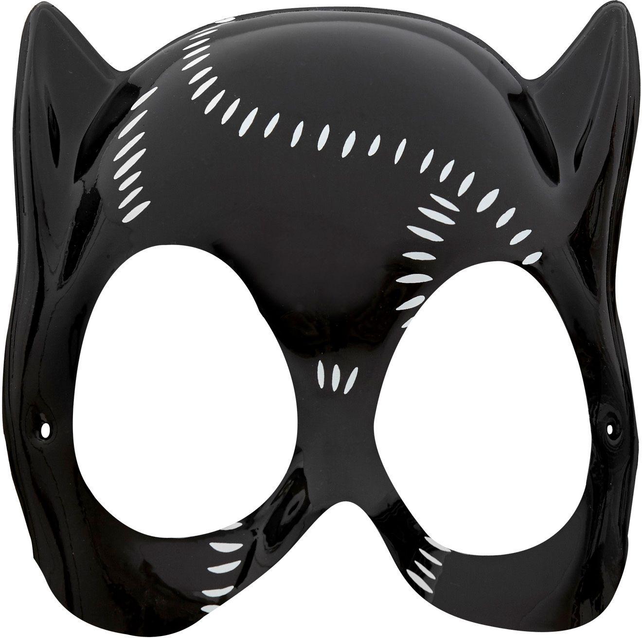 Pvc catwoman masker