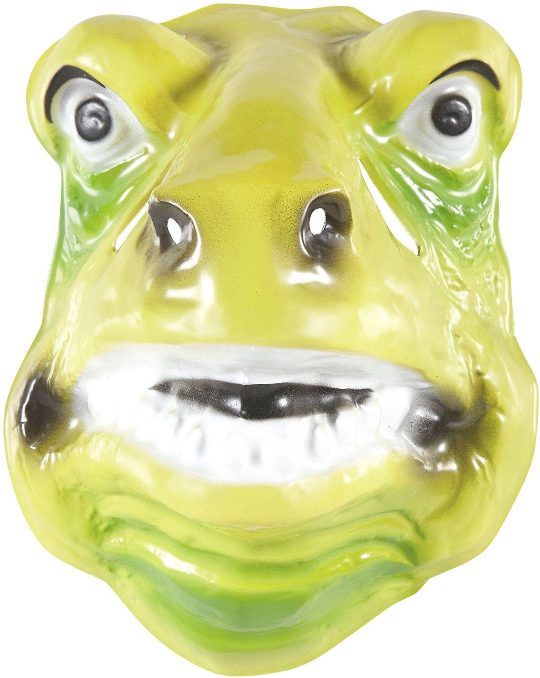Pvc dinosaurus masker