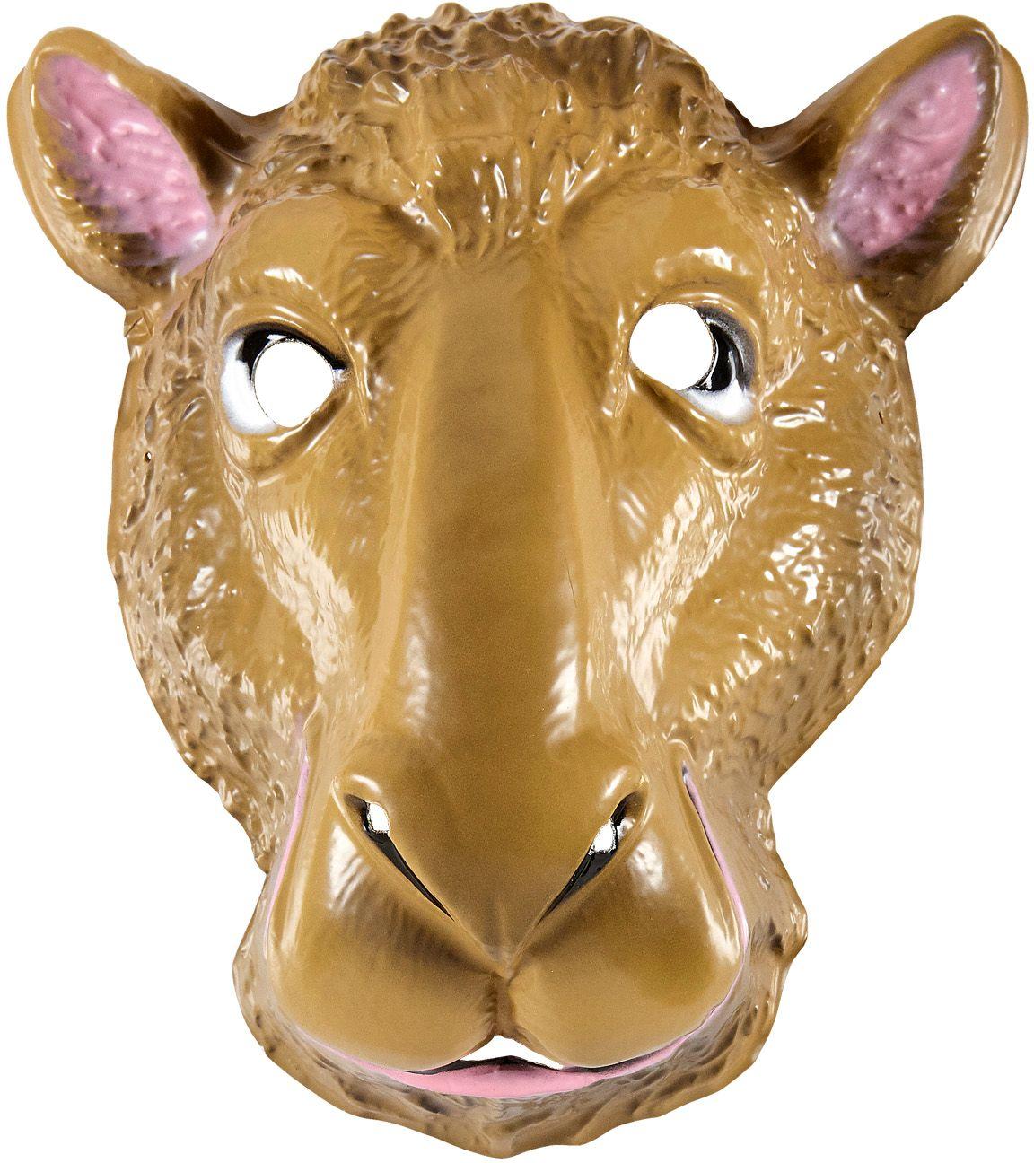 Pvc kamelen masker kind