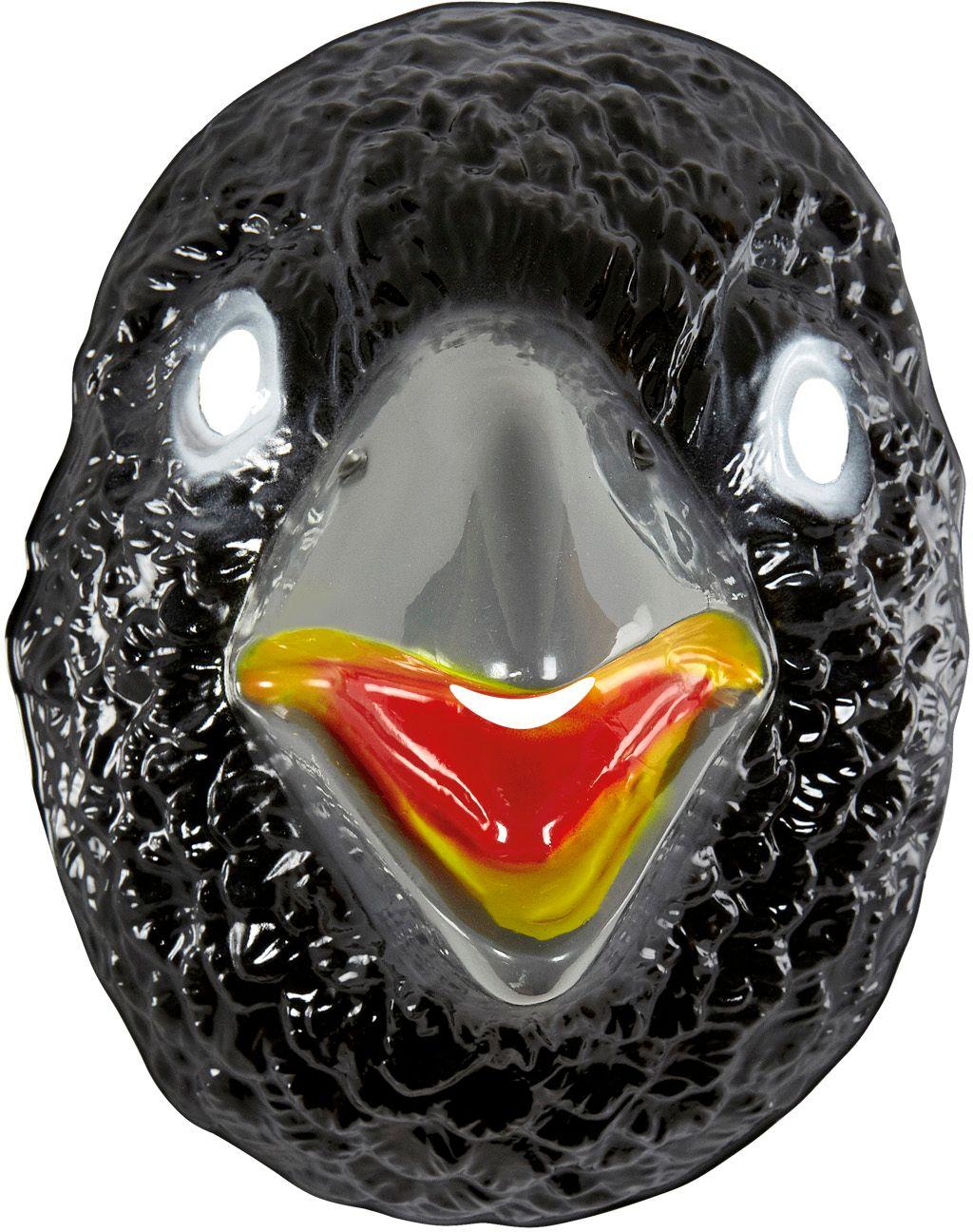 Pvc kraaien masker