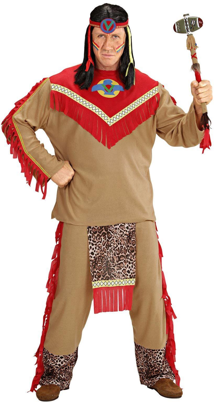 Ragin bull indiaan man kostuum