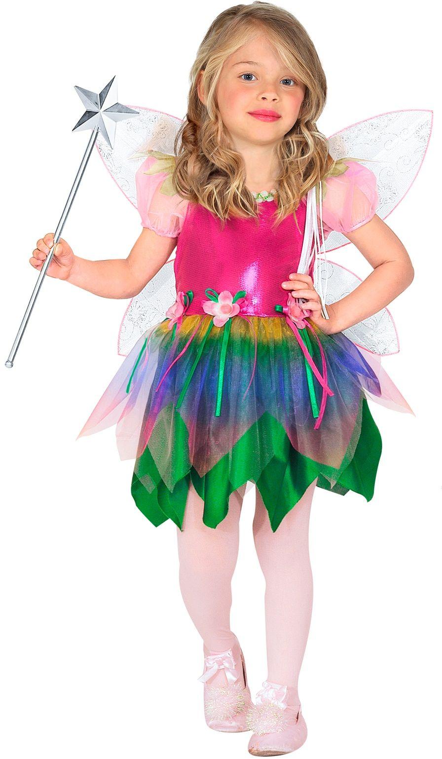 Regenboog Fee Kinderen Kostuum