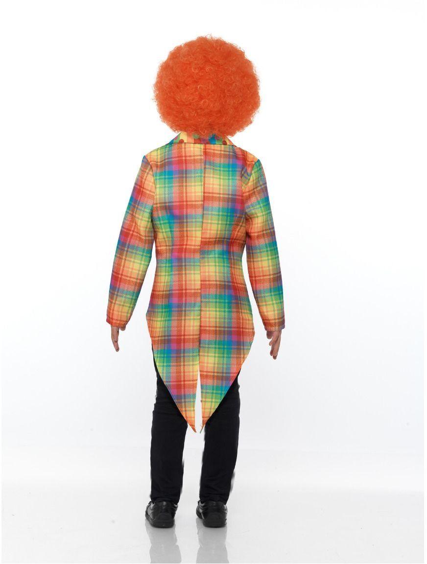 Regenboog kleuren clown pandjesjas
