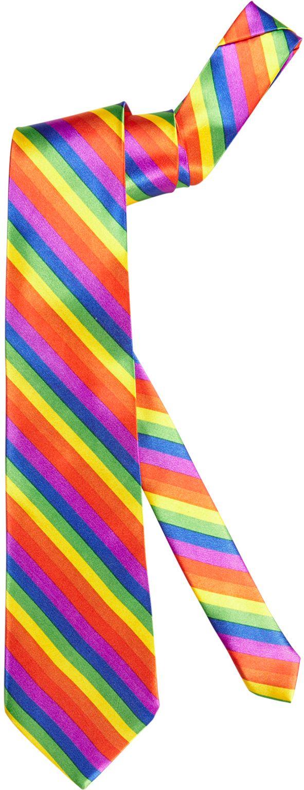 Regenboog stropdas