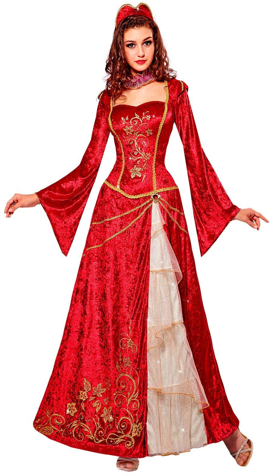 Renaissance prinsessenjurk