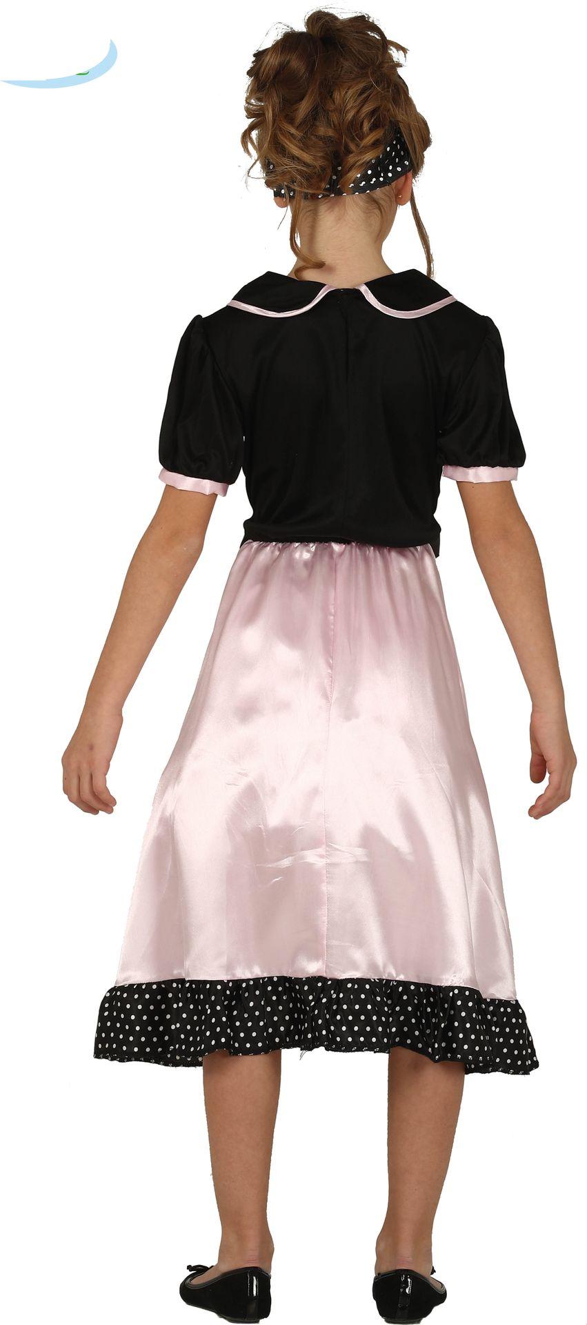 Retro jaren 50 jurkje meisjes