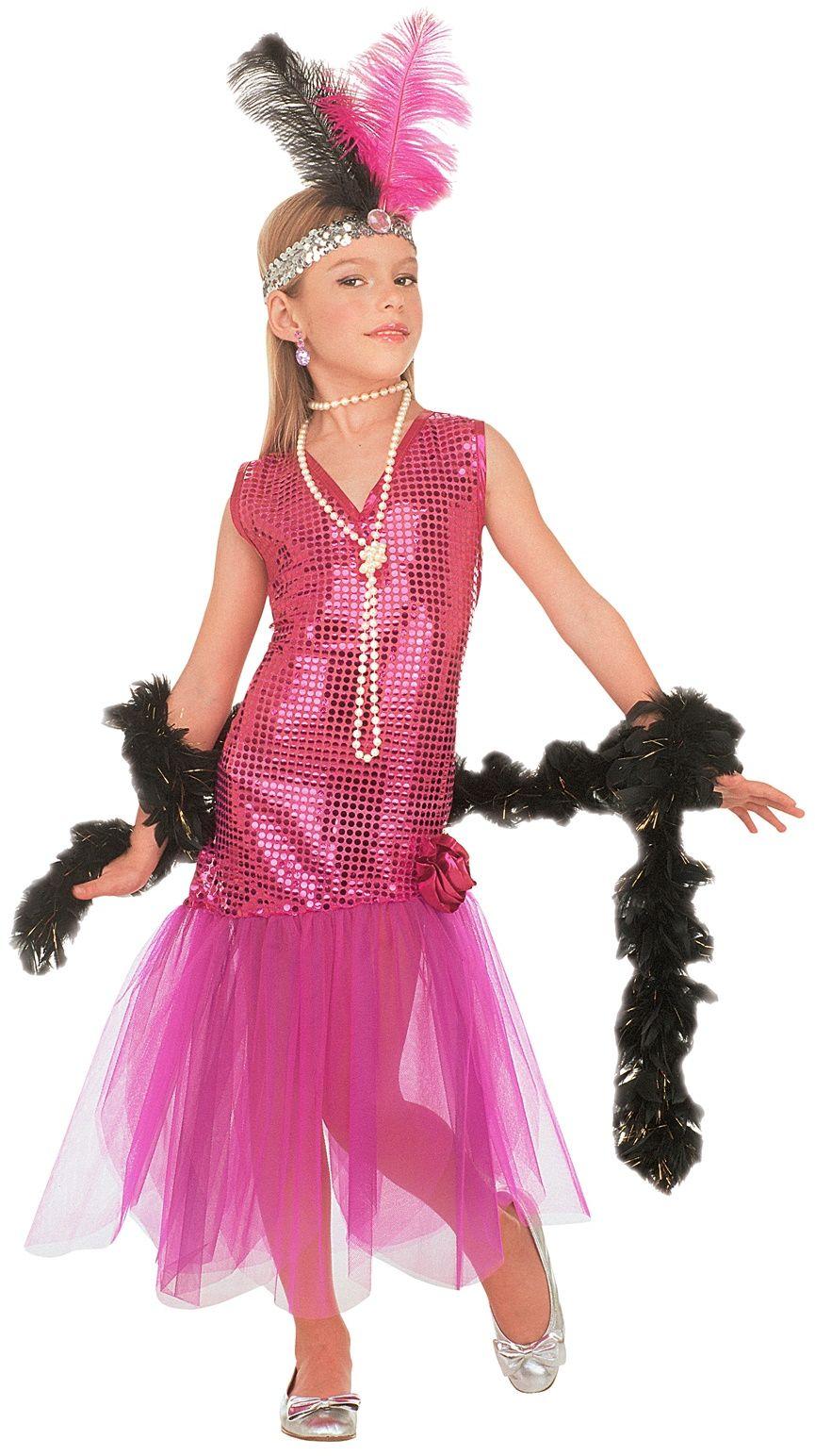 Retro jurkje kind roze