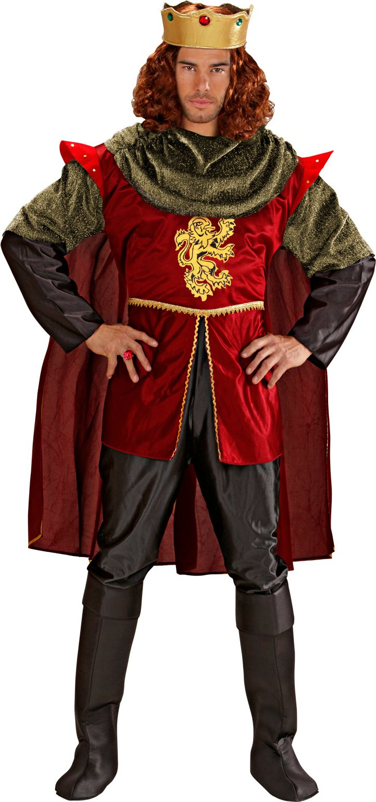 Ridder koning kostuum