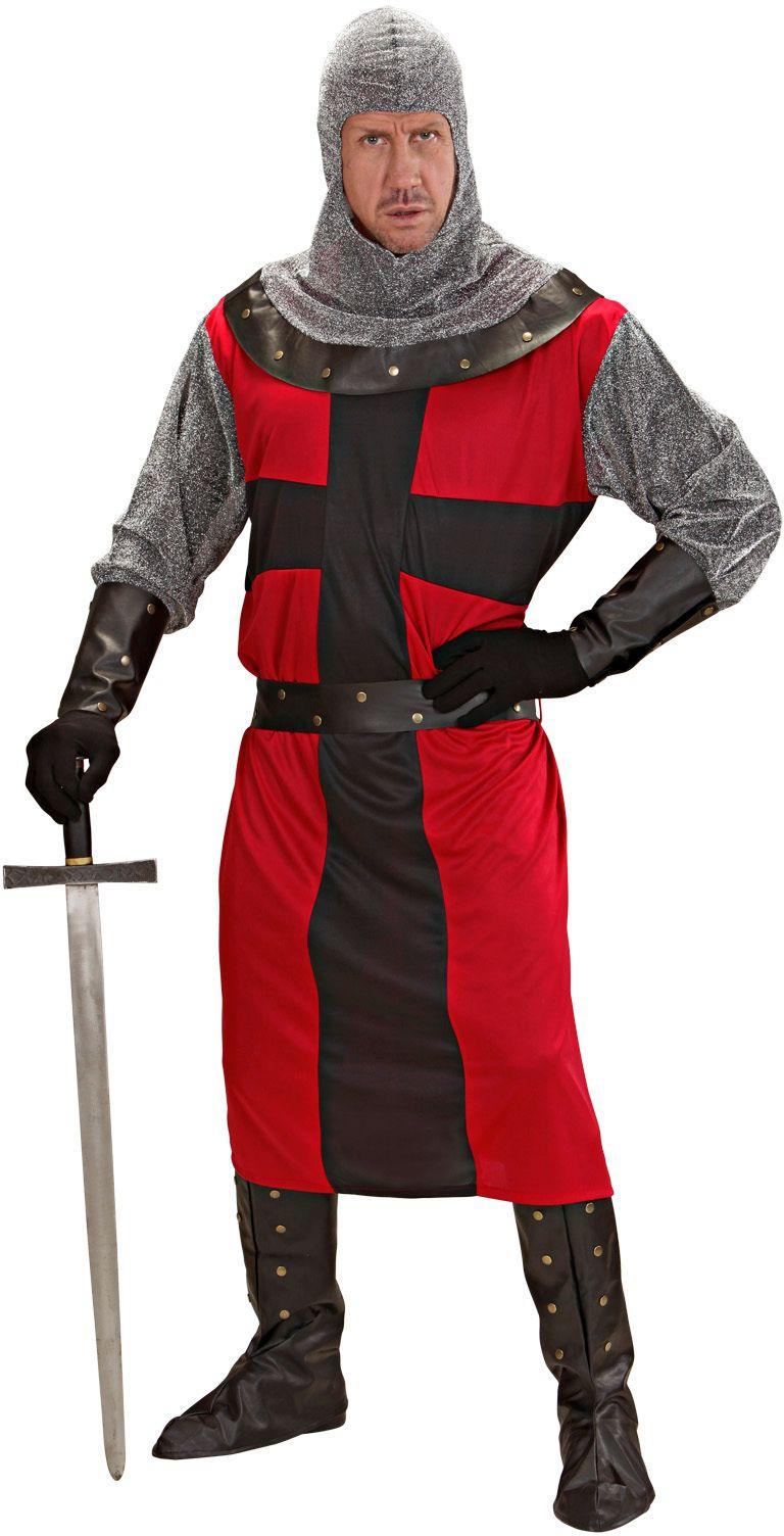 Ridder middeleeuwen rood