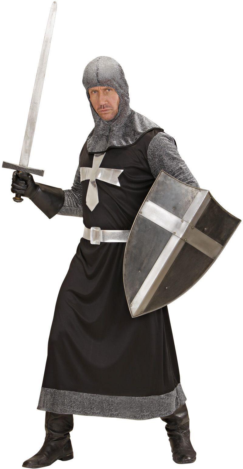 Ridder middeleeuwen zwart