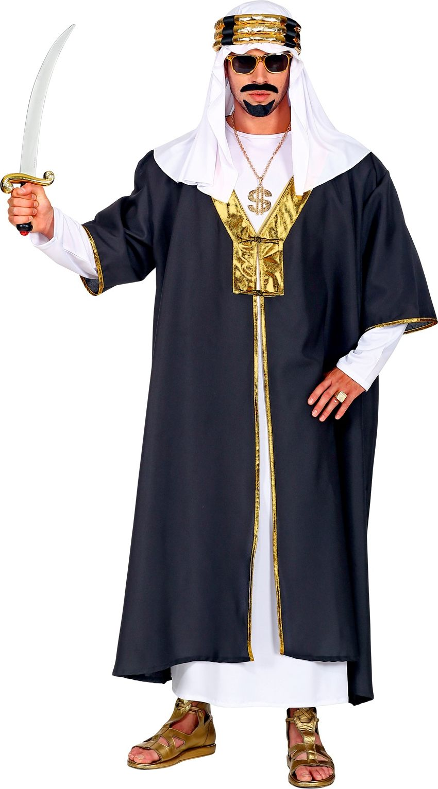 Rijke Sjeik outfit