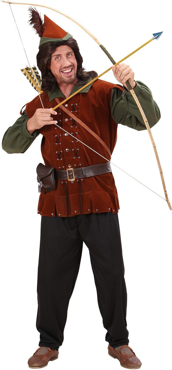 Robin Hood pakje rood groen