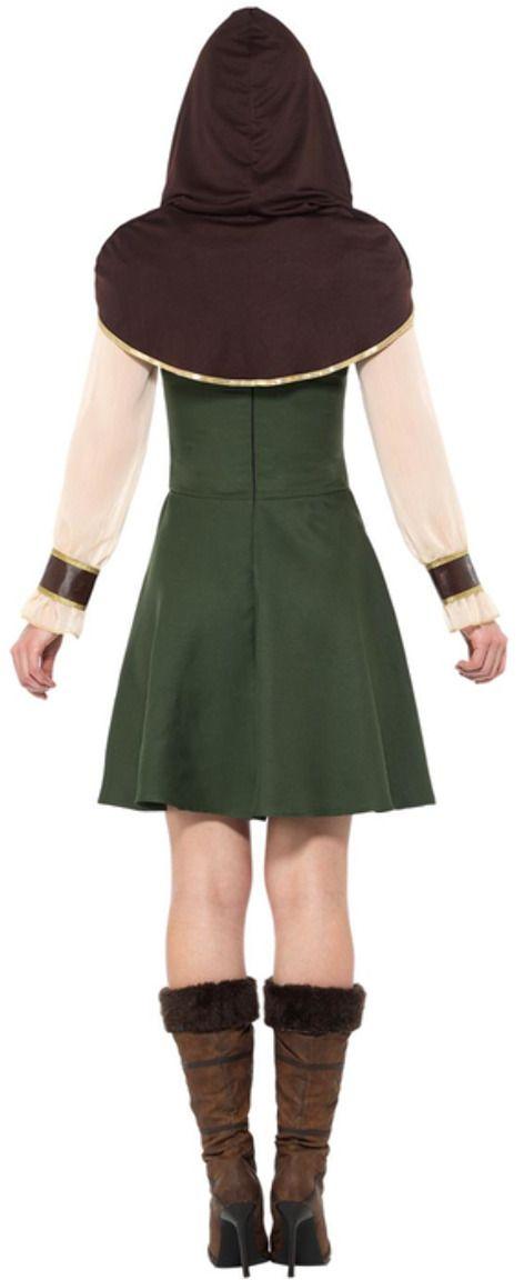 Robin Hood vrouwen outfit groen