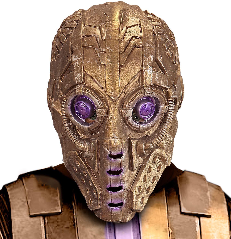 Robot alien masker