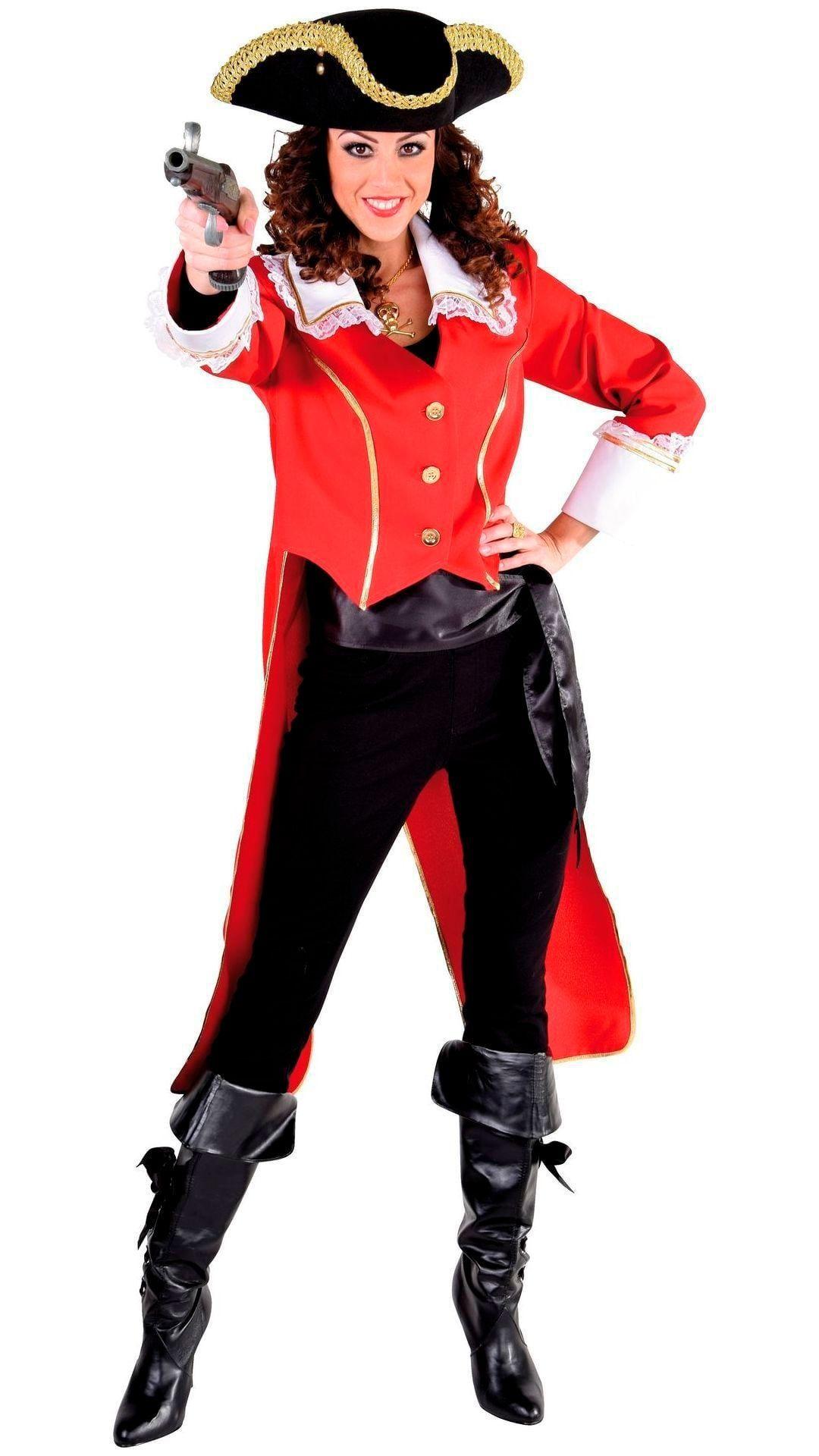 Rode admiraal slipjas dames