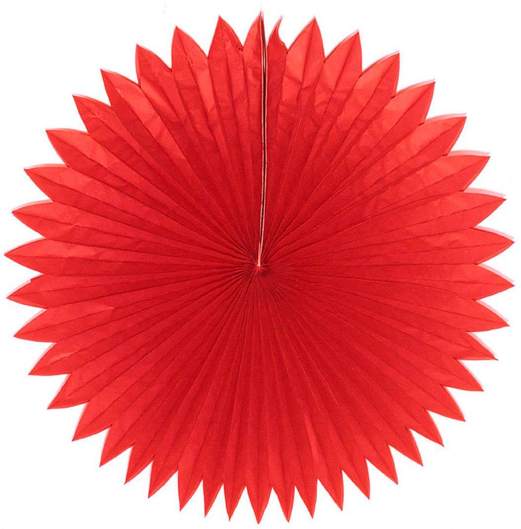 Rode chinese papieren waaier