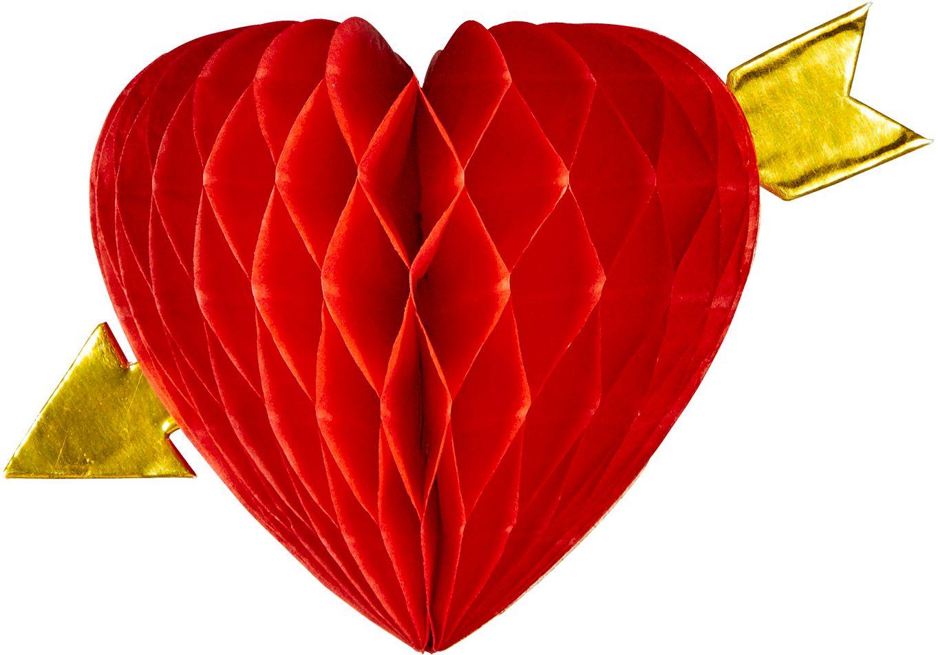 Rode cupido honingraat