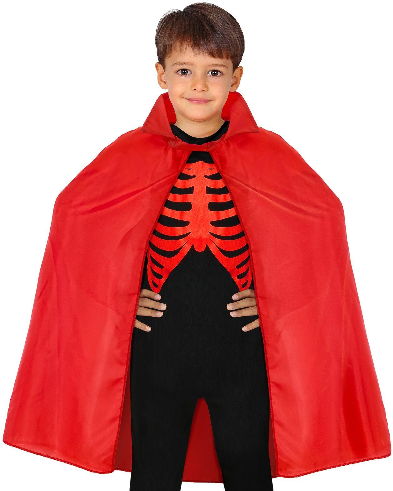 Rode duivel cape kind