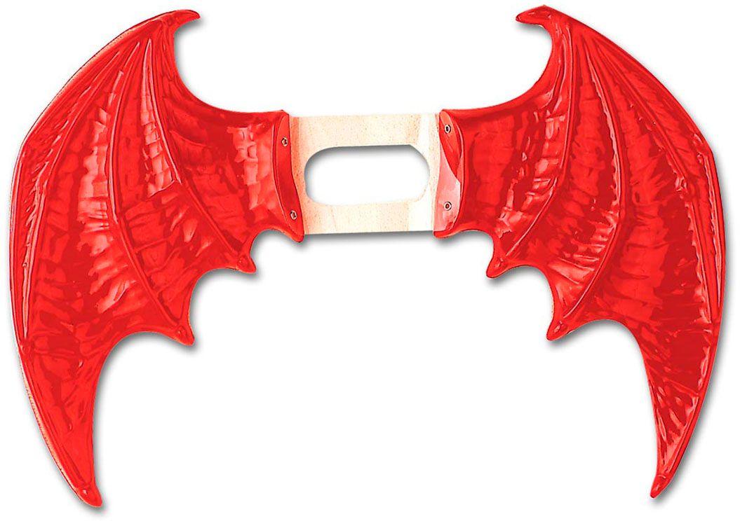 Rode duivel vleugels