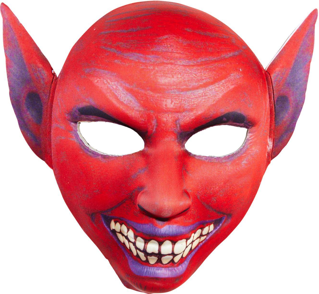 Rode duivels masker puntoren