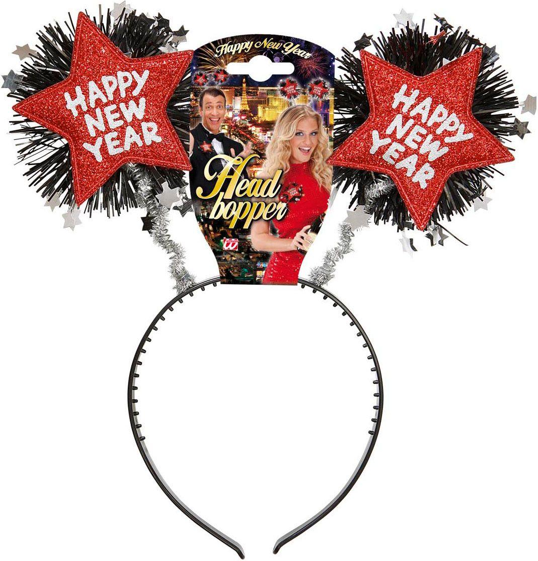 Rode gelukkig nieuwjaar hoofdband