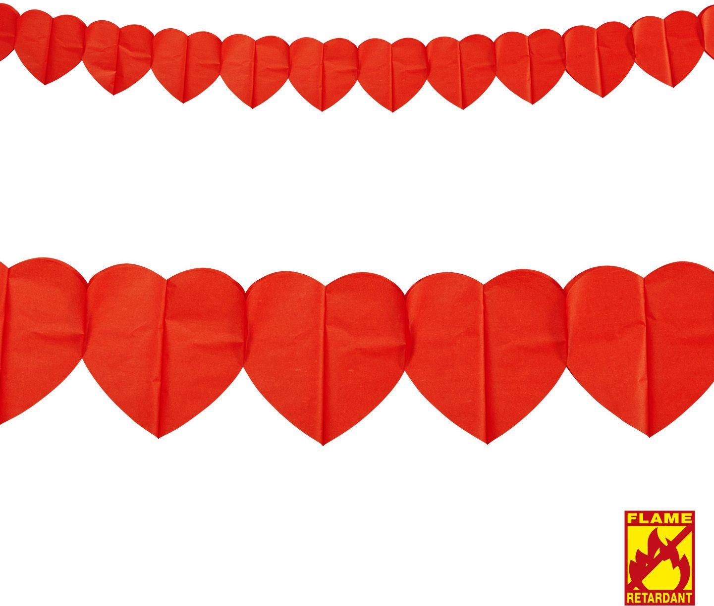 Rode hartjes slinger
