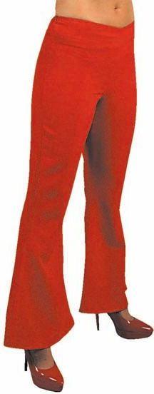 Rode hippie broek dames