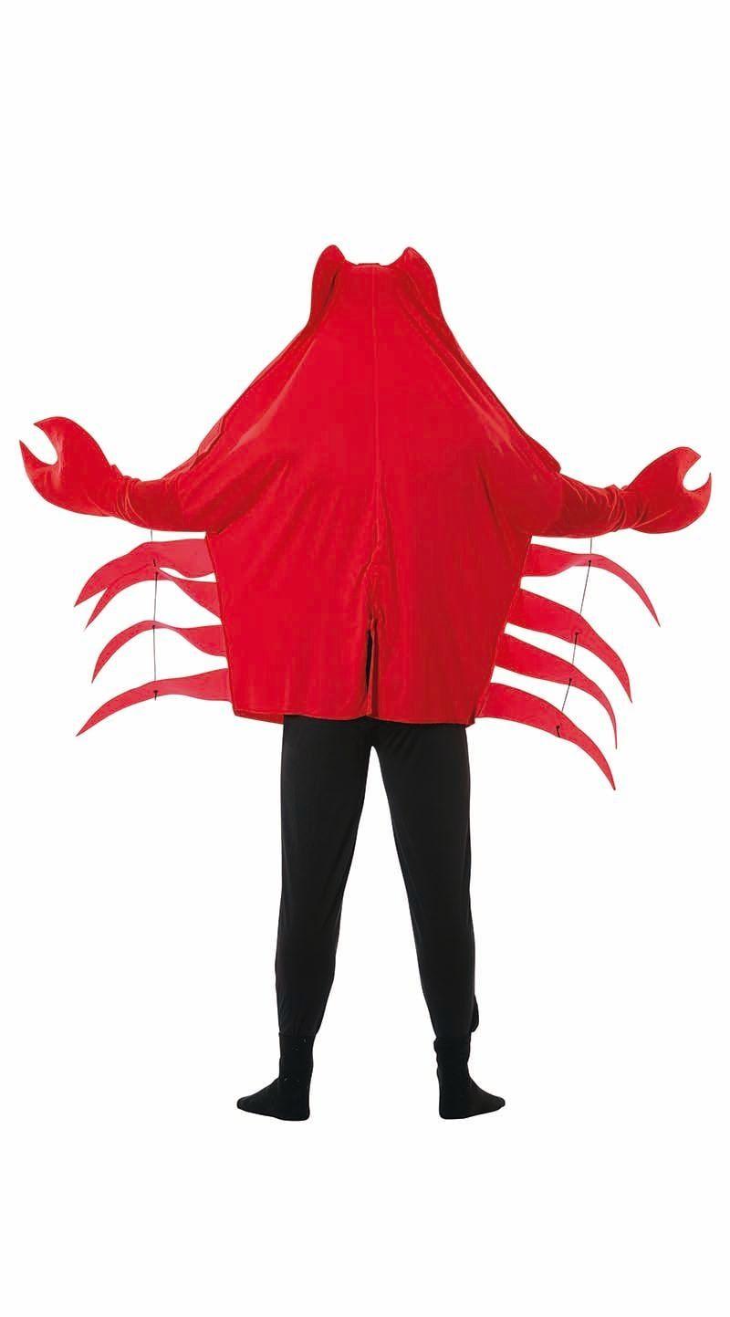 Rode krab carnaval kostuum