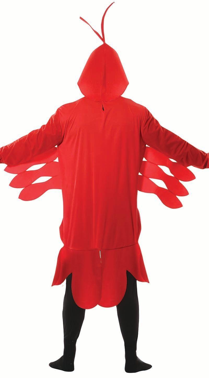Rode kreeft carnaval kostuum